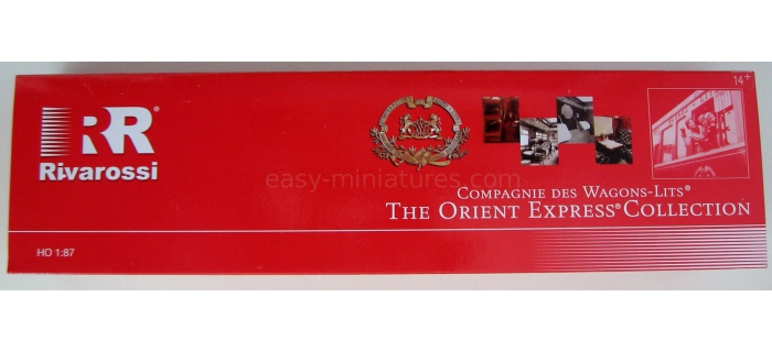 Rivarossi HR4135 CIWL Venice Simplon Orient Express wagon restaurant*