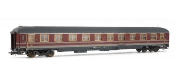 """Voiture voyageurs 1ère classe type UIC X-high speed,livrée """"Gris-Rouge""""  FS*"""
