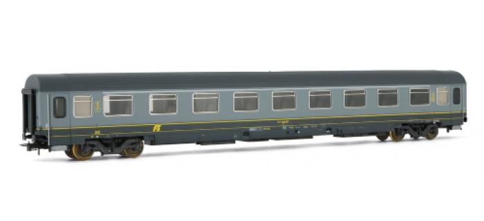 rivarossi HR4113 Voiture voyageurs type Z, 1ère classe, gris, FS train electrique