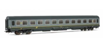 RIVAROSSI HR4114 Voiture voyageurs type Z, 2nd classe, gris, FS TRAIN ELECTRIQUE