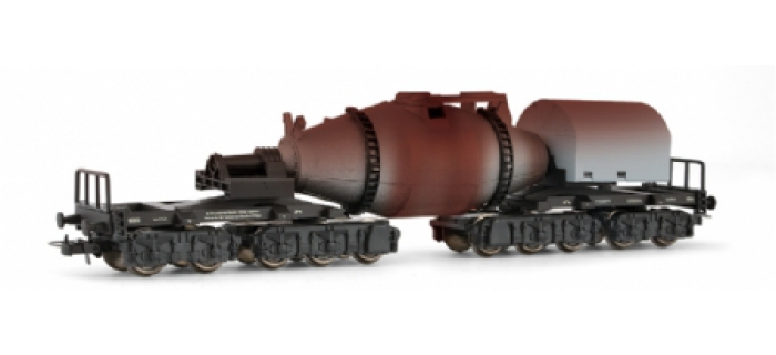 Wagon torpille, patiné *