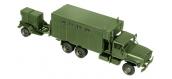 ROCO R05041 - Véhicule militaire M934 Van, expansible + M 200 A1  MODELISME FERROVIAIRE