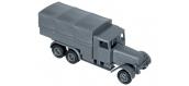 Véhicules miniatures pour modelisme ferroviaire ROCO R05053 - Camion militaire, 3 t Henschel 33 D1 / G1