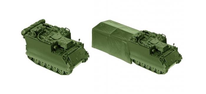 Modelisme ferroviaire ROCO R05063- Blindé de poste de commandement véhicule 577 M A1 G