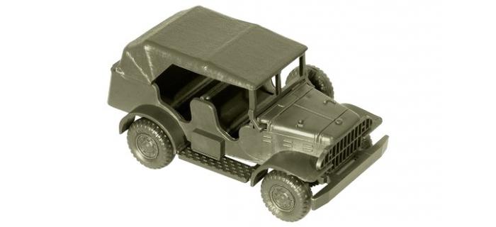 Véhicule pour MODELISME FERROVIAIRE ROCO R05087 - Dodge 3/4 commando