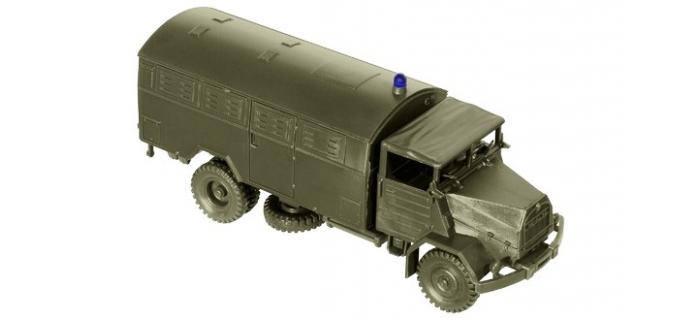 Véhicules miniatures pour modelisme ferroviaire ROCO R05092 - Véhicule militaire MMAN 630 L2 A