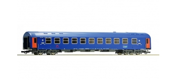 Train électrique :  ROCO R64878 - Voiture couchettes ZSSk