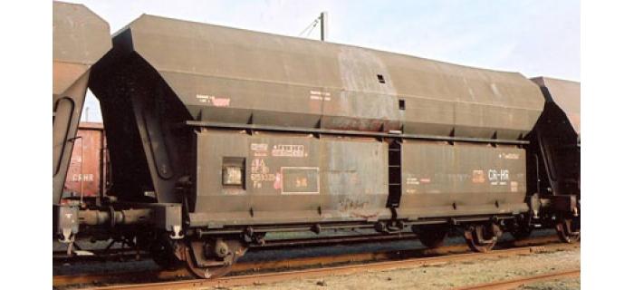 R66049 - Coffret 3 wagons trémie à déchargement auto, SNCB - Roco
