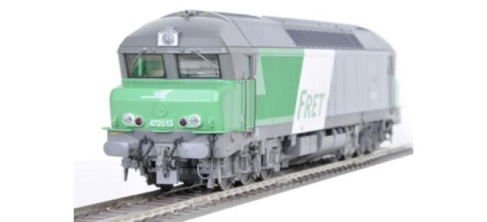 R62988 - Locomotive cc72013 fret SNCF - Roco