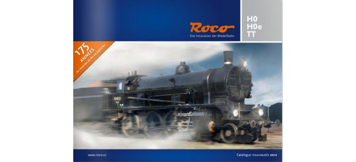 R80912 - Catalogue des nouveautés Roco 2012 - Roco