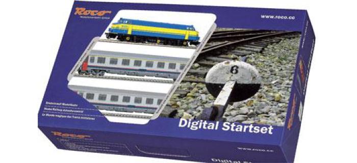 R41342B7 - Coffret de départ digital, loco 6005 train voyageur - Roco