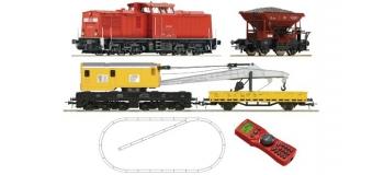 Train électrique : R41363 - Coffret numérique débutant Locomotive diesel BR 204 de la DB AG avec un train de travaux