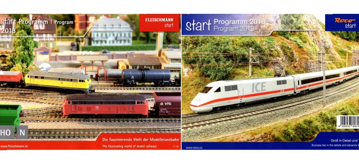 R80816 - Catalogue Roco Fleischmann Start Program 2018 - Roco