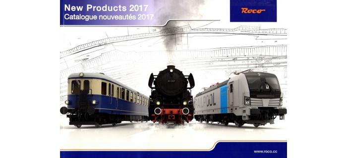 R80817 - Catalogue Roco, Nouveautés 2017 - Roco
