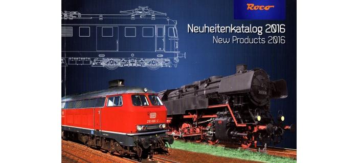 R80716 - Catalogue Roco, Nouveautés 2016 - Roco