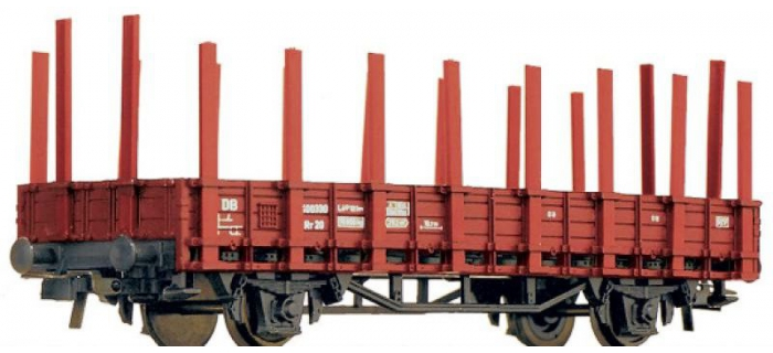 Train électrique : ROCO R46031 - Wagon à ranchers de la DB