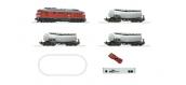 Modélisme ferroviaire : ROCO -  R51288 - Coffret de départ numérique z21: Locomotive diesel série 232 avec wagons citerne de la DB AG