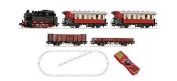 Train électrique : ROCO R51259 - Coffret numérique débutant locomotive diesel BR 80