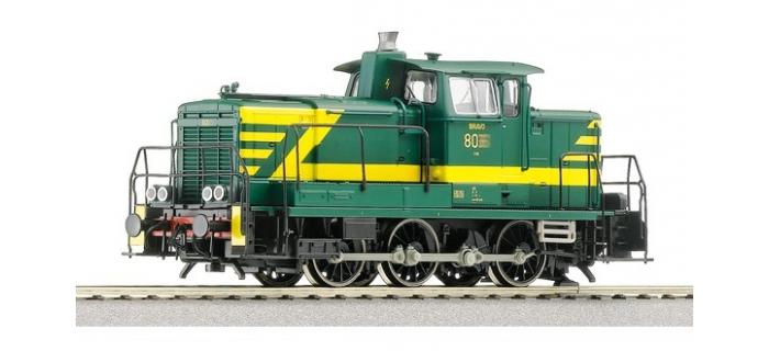 Modélisme ferroviaire : ROCO R52536 - Locomotive diesel Reeks 80, SNCB