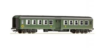 Train électrique : ROCO R54312 - Voiture «Bruhat » 2. cl., SNCF, Ep IV