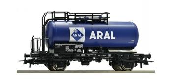 Modélisme ferroviaire : ROCO R56258 - Wagon citerne ARAL de la DB