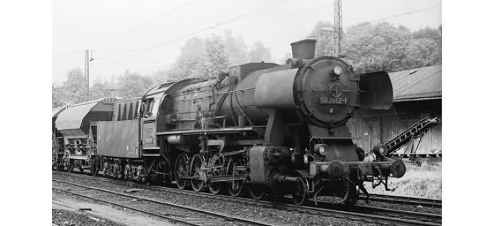 R62257 LOCO VAPEUR BR50 DR  train electrique