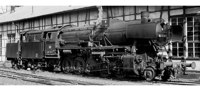 R62258 LOCO VAPEUR BR52 DB train electrique