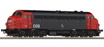 R62732 LOCO DIESEL MV DSB train electrique