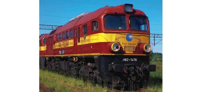 R62768 LOCO D.M62 SON POLSKA train electrique