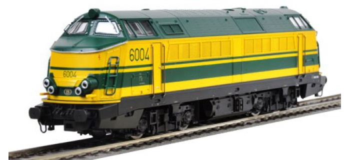 Train électrique : ROCO R62996 - Locomotive diesel 6004 SNCB