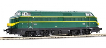 Train électrique : ROCO R62998 - Locomotive diesel 210.006 SNCB