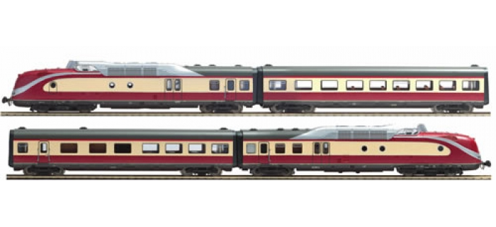 ROCO 63104 RAME AUTO.BR601 SON DB train electrique