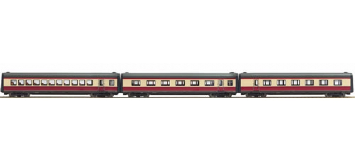 roco 64060 SET 3 VOIT.COMP. 63103 DB train electrique