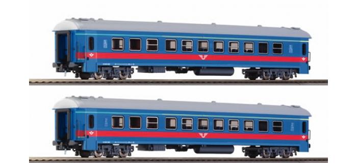 roco 64075 SET 2 VOITURES SJ train electrique