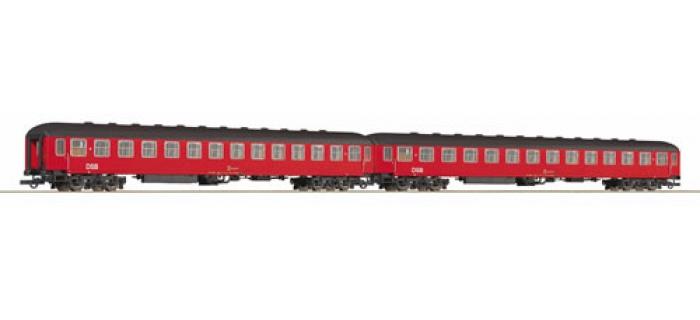 R64076 SET 2 VOIT.COUCH.DSB train electrique