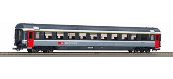 ROCO 64368 Voitures Eurocity 1ère classe SBB + éclairage TRAIN ELECTRIQUE