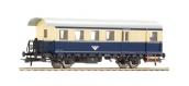 Modélisme ferroviaire : ROCO R64476 - Voiture voyageurs2ème classe  nervurée