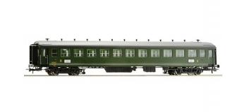 Train électrique : ROCO R64591 - Voiture seconde classe type EST B11myfi n°13702 SNCF