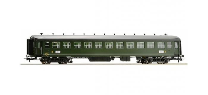Train électrique : ROCO R64592 - Voiture seconde classe type EST B11myfi n°13719 SNCF
