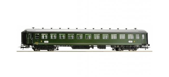 Train électrique : ROCO R64593 - Voiture seconde classe type EST B11myfi n°13737 SNCF