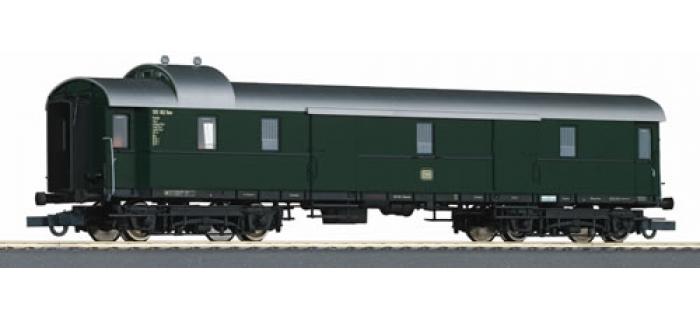 R64741 FOURGON BAG.+ECL.DB train electrique
