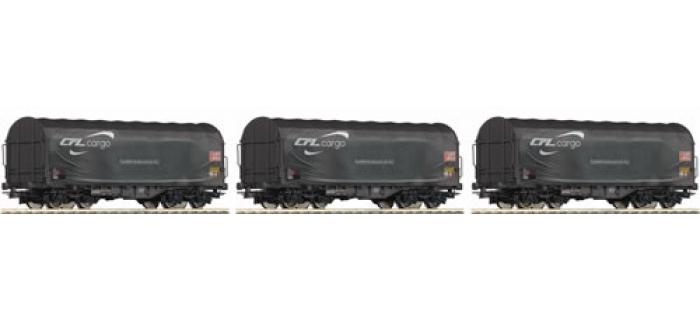 R66125 SET 3 WAG.PAROIS COUL. CFL train electrique