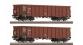 R66158 SET 2 WAGONS TOMB.CD train electrique
