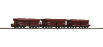 R66172 SET 3 WAG.DECHAR.AUTO DBAG train electrique