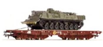 Train électrique : ROCO R66496 - Wagon porte char ep IV FS