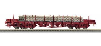 R66721 WAG.PLAT+TRAVER.BETON CFL train electrique