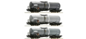 Modélisme ferroviaire : ROCO R67125 - Wagons citernes, GATX