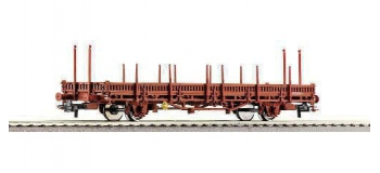 Train électrique : ROCO R67490 - Wagon plat a Ranchers SNCF