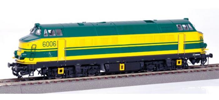 Train électrique : ROCO R68890 - Locomotive diesel série 60 N°6006 de la SNCB