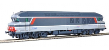 Train électrique : ROCO R68977 - Locomotive Diesel CC 72040 multi AC